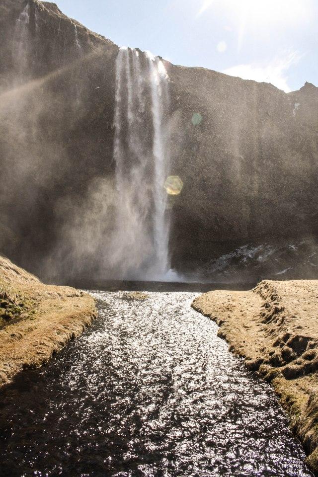 Seljalandfoss Waterfall, Iceland, nature