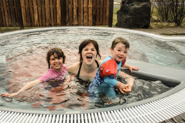 Hot tub, Hotel Katla, Iceland