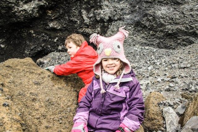Reynisfjara beach, Iceland, Black beach