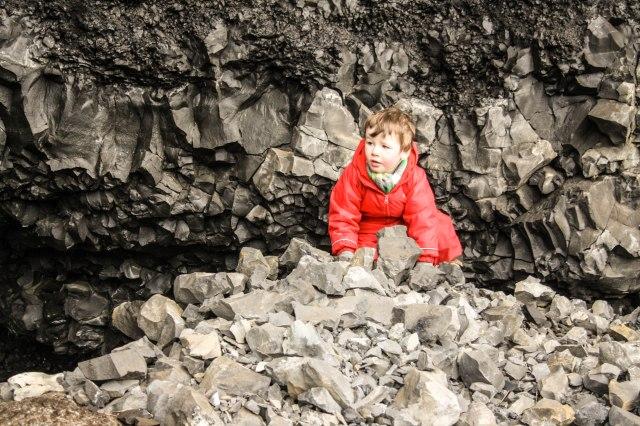 Reynisfjara beach, Iceland, nature, kids, Black Beach