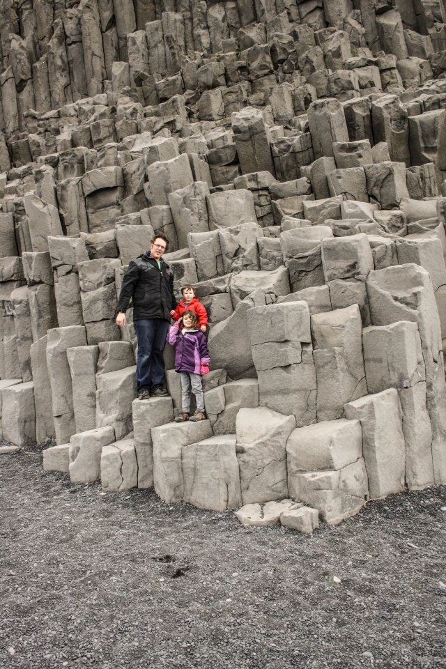Reynisfjara beach, Kids, Black Beach, Iceland